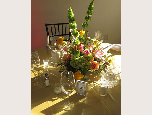 bright centerpiece